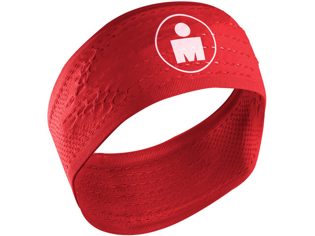 9e50df328b Compressport On/Off Headwear Ironman Edition red at Bikester.co.uk